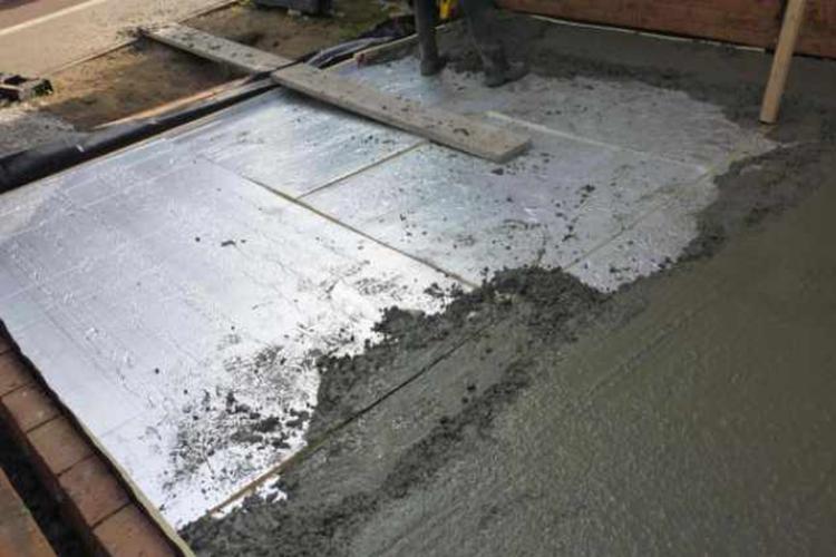 утепление пола в бане своими руками - бетон