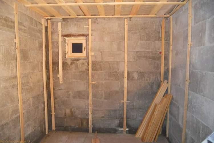 чем утеплить стены бани изнутри